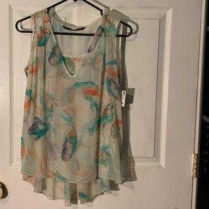 NEW! Zara floral print tank top. NWT!